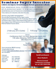SEMINAR SAHAM SUPER INVESTOR