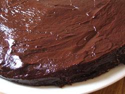 Bittersweet Chocolate Glaze