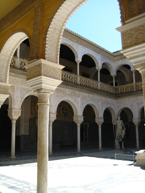 Casa de Pilatos in Seville, Spain.