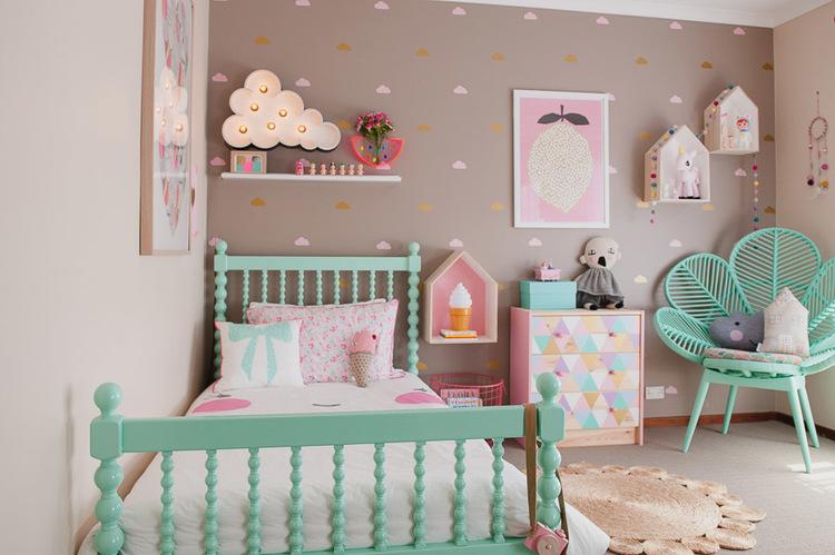 Una habitaci n de ni a de tonos pastel alquimia deco for Decoracion zen habitacion