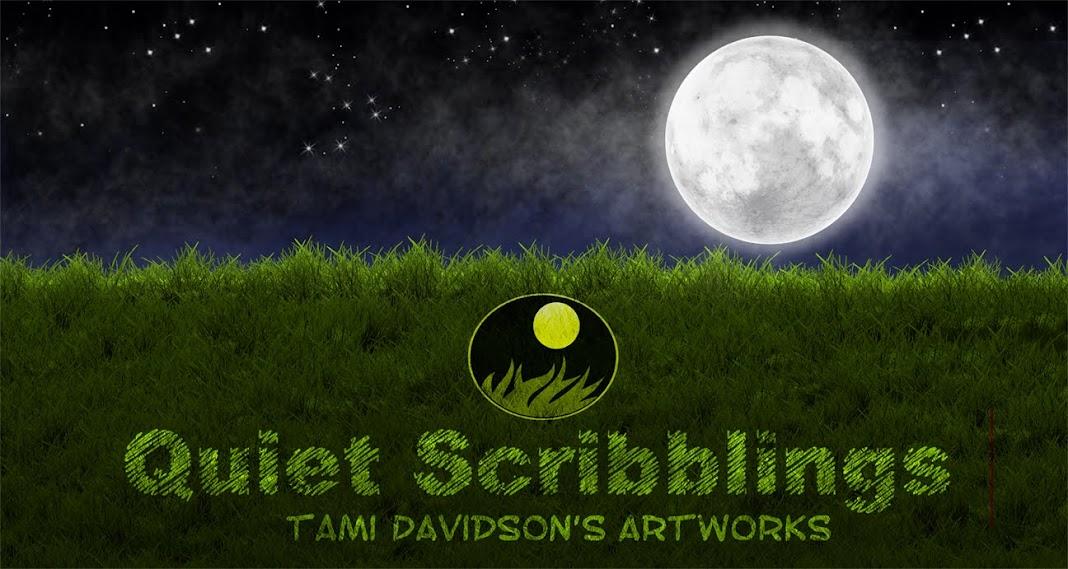 Quiet Scribblings: Tami Davidson's Artworks