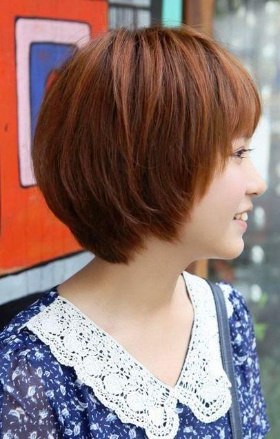 Model Rambut Bob Nungging Terbaru