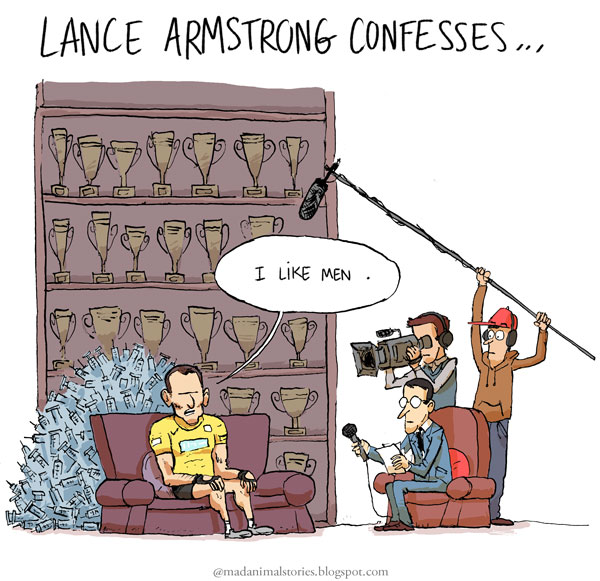 Lance Armstrong confesses