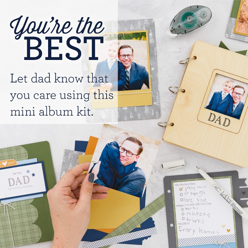 CTMH Dad Album - You're The Best
