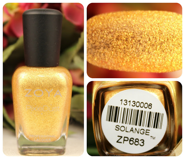 Zoya Solange Pixie Dust Nail Polish