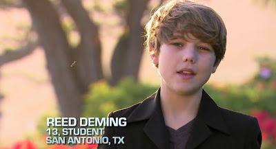 Singer Reed Deming on The X Factor U.S. Video Britney Spears