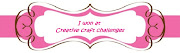 I won at Creative Craft Challenge Jan/12
