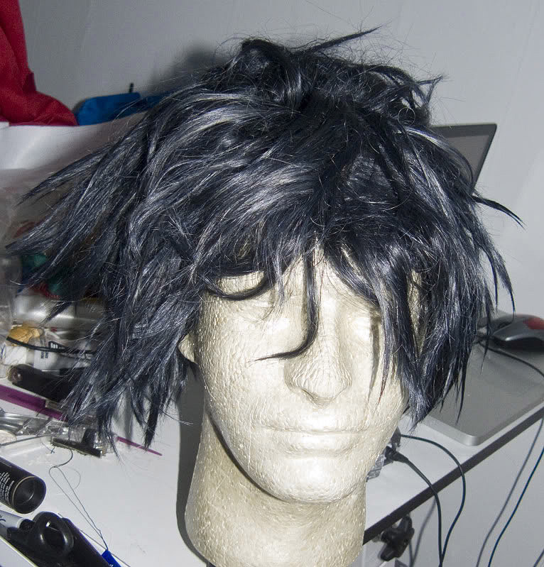 how to get wig tangled wig bak to normal