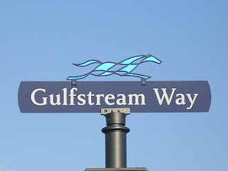 Gulfstream Way at Gulfstream Park Race Track in Hallandale Beach, FL
