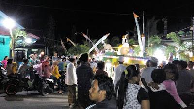Malam Takbiran di Karimun Jawa