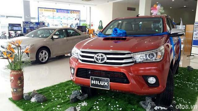 Toyota Hilux 2016 ra mắt tại Hà nội vào chiều nay