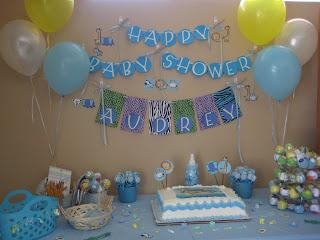 Baby Shower Decoration Ideas Boy