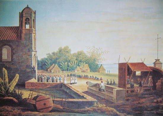 Malate Church in 1831