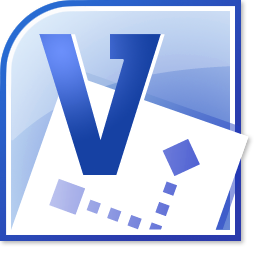 Gambar Logo Microsoft Office Visio