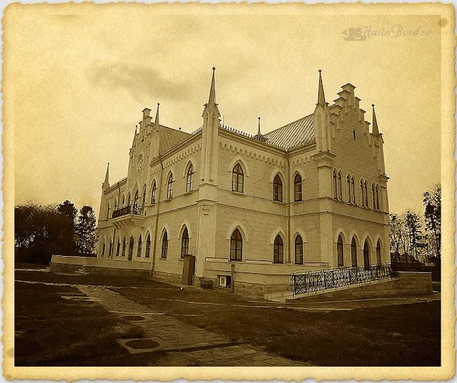 palatul ruginoasa retro