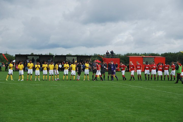 MSS Kedah menentang Manchester United