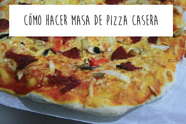 Receta para masa de pizza casera