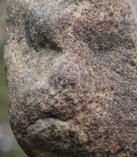 Sandstone Figure, Great Serpent Mound, Ohio