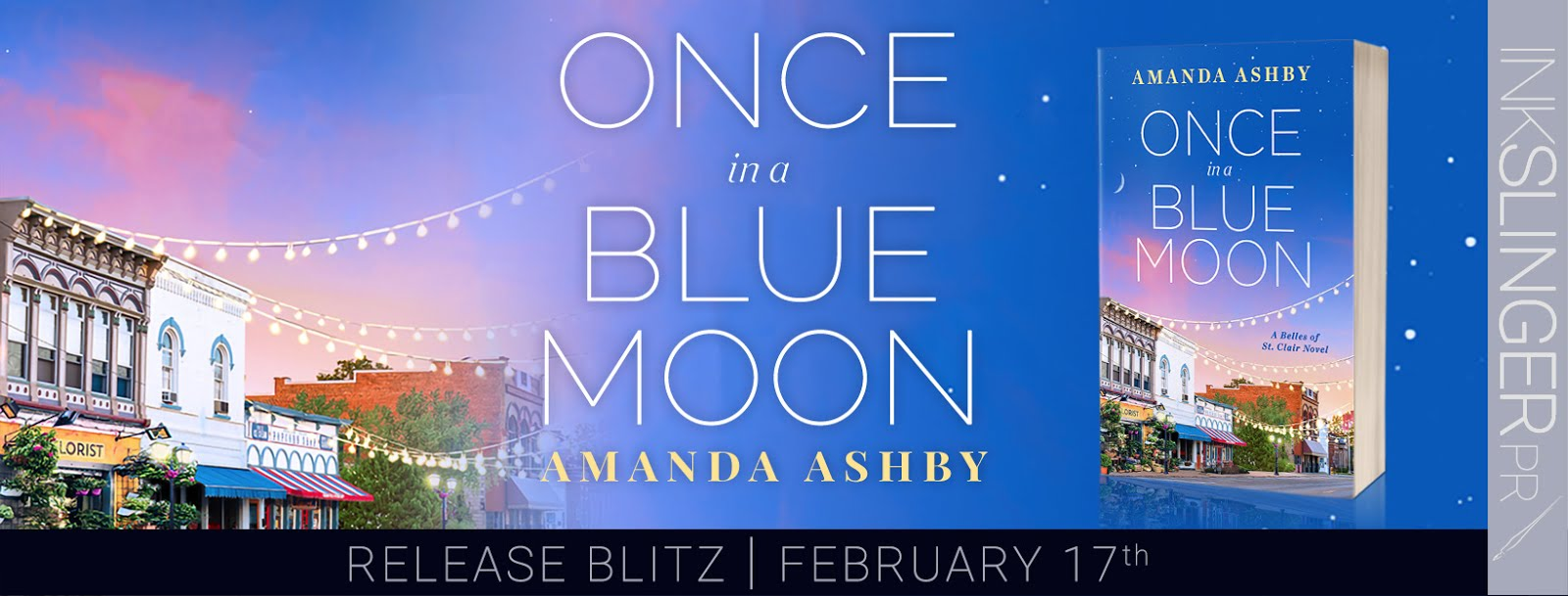 Once In A Blue Moon Release Blitz & Giveaway
