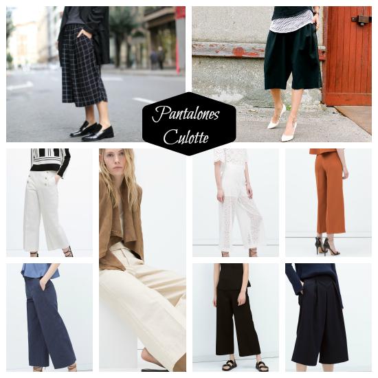 tendencias moda pantalones culotte primavera verano 2015