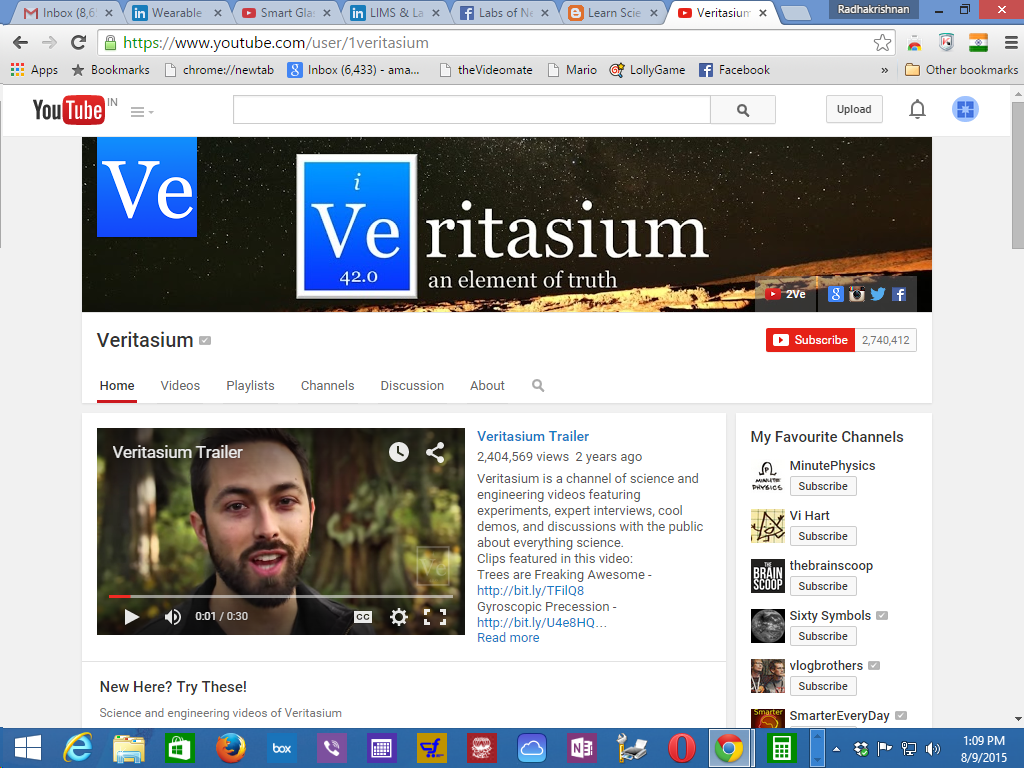 Veritasium- Science Videos