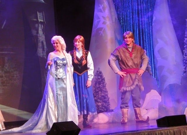 Frozen Festa Hollywod Studios Disney