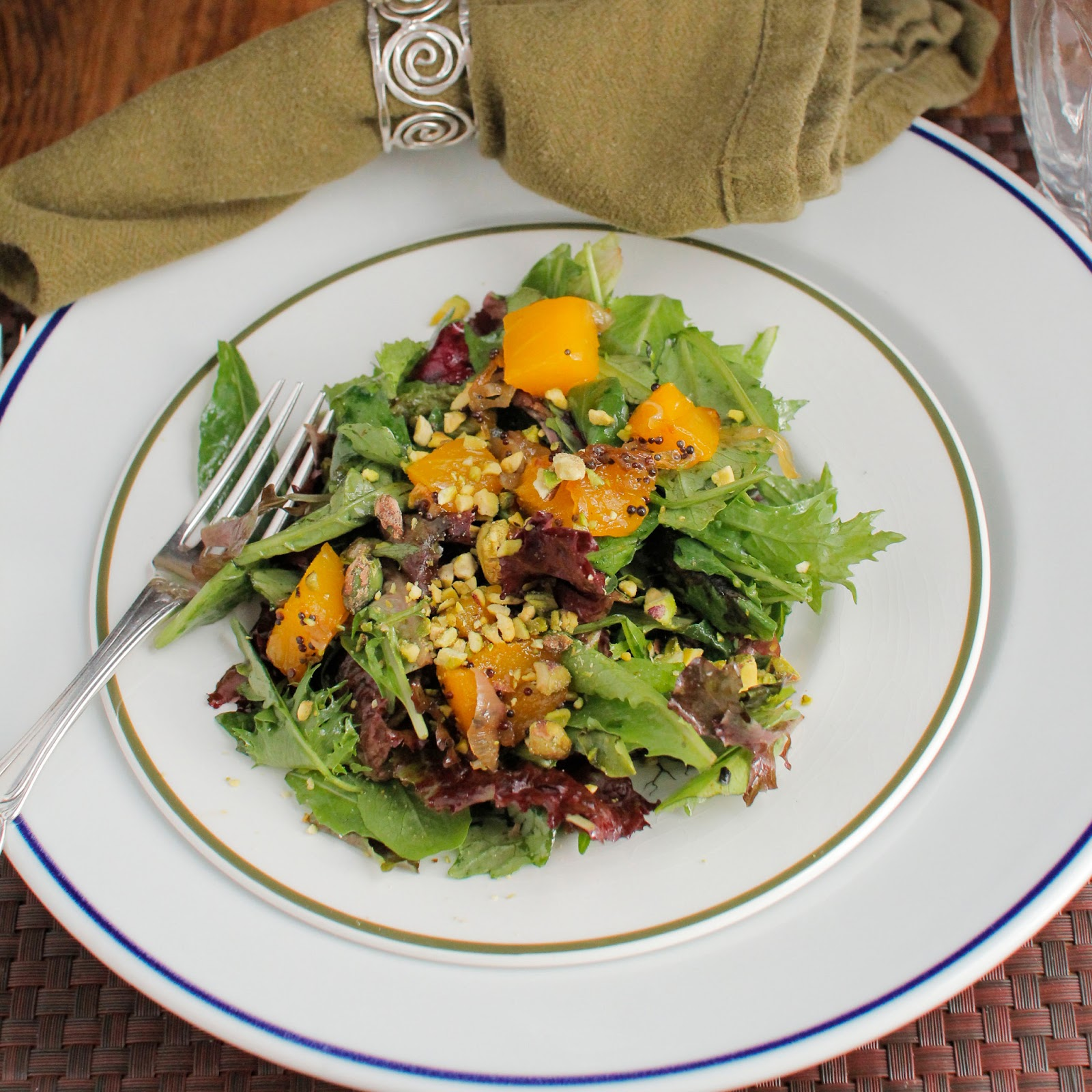 Caramelized Mango And Shallot Salad Recipes — Dishmaps