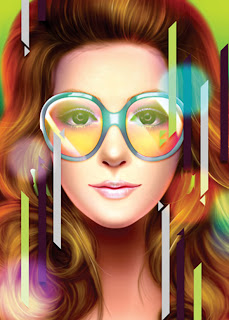 Create stunning portrait of a bright
