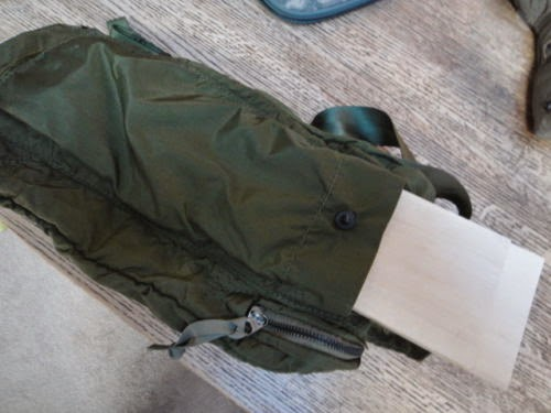 how to make a splint in the woods