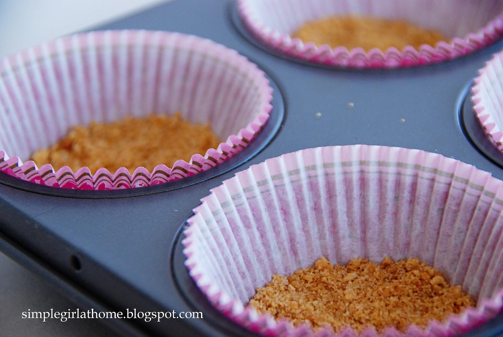 Simple Girl: Raspberry Marble Cheesecakes