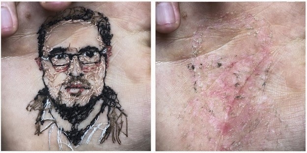 tattoos created by stitching