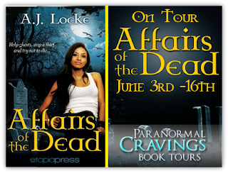 Book Tour: Affairs of the Dead by A.J. Locke {Guest Post + Giveaway}