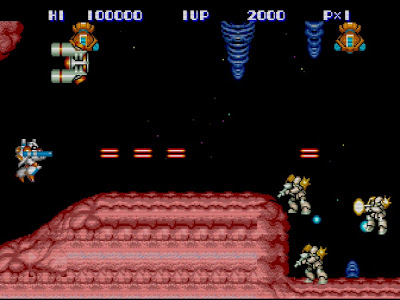 Side Arms: Hyper Dyne (TurboGrafx-16 / PC Engine)