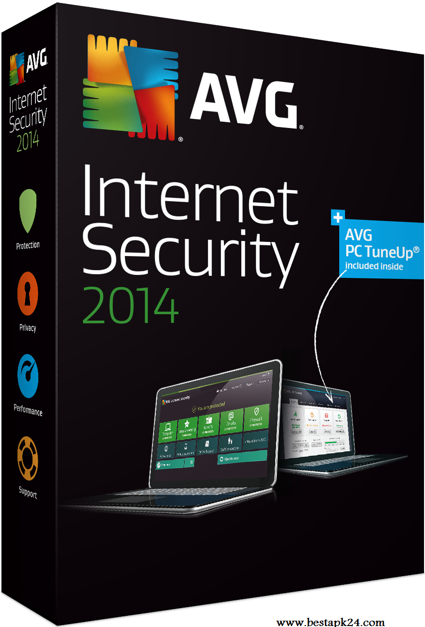 AVG Internet Security 2014 free for 1year