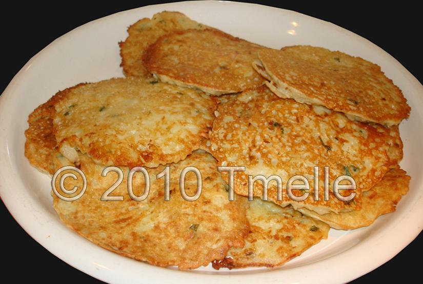 Potato Pancakes - Kartoffelpuffer