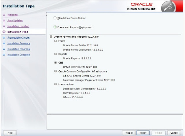 Oracle Forms 12c Installation