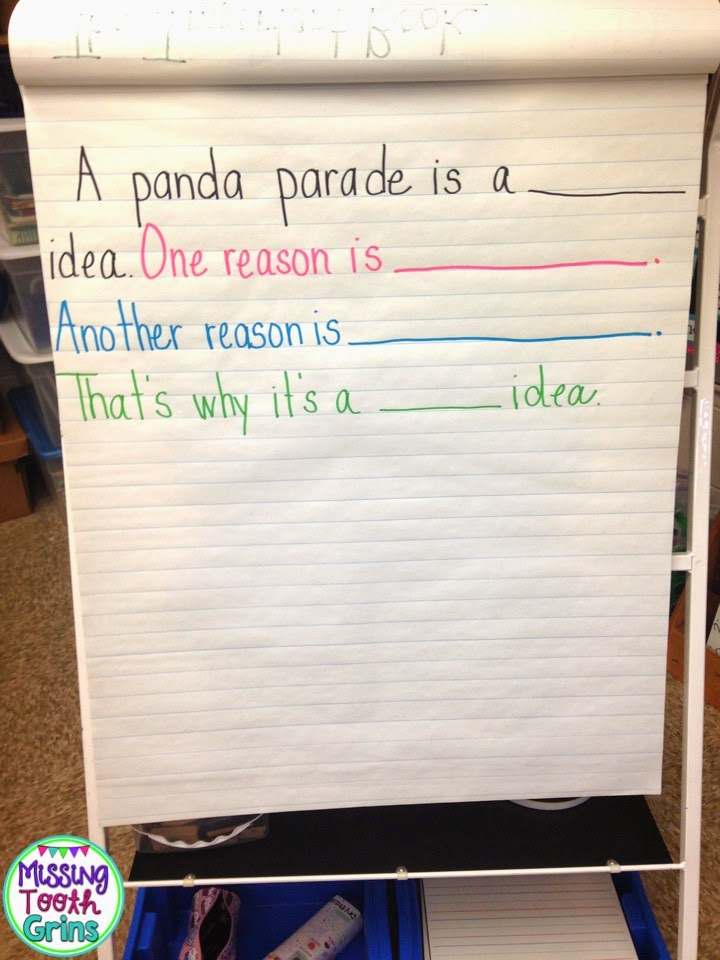 Mentor Texts & Opinion Writing & Topic Sentences, OH MY! - Missing ...