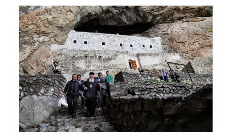 Ο Πατριάρχης Βαρθολομαίος επισκέφθηκε για πρώτη φορά φορά την Παναγία της Γαράσαρης στο Καγιά-τιπι της Νικοπόλεως Πόντου