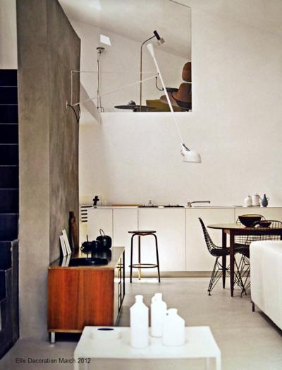aplique de pared balnco vintage para decoracion moderna y minimalista