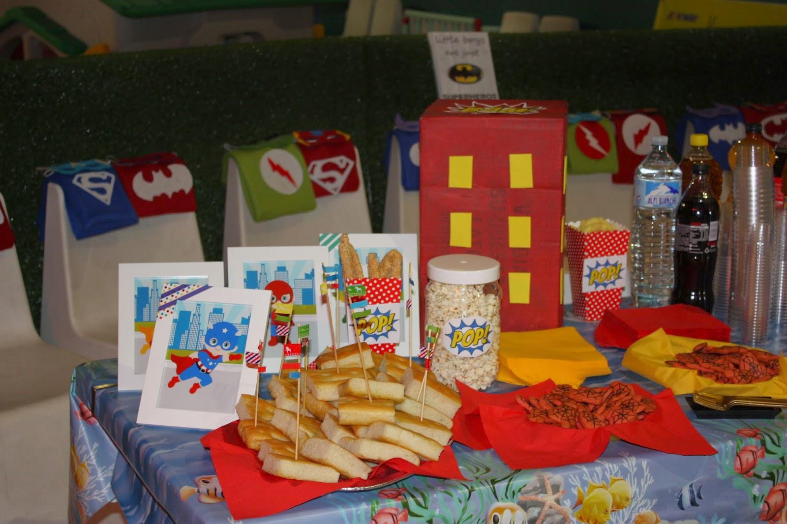 Favorito La Casin@ di Ale: superhero party: festa a tema super eroi per  AR97