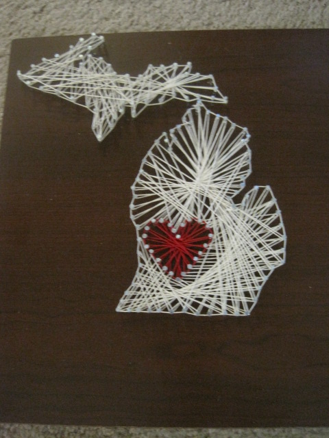 Em Provising 14 Before 2014 Loving Home Nail And String Art