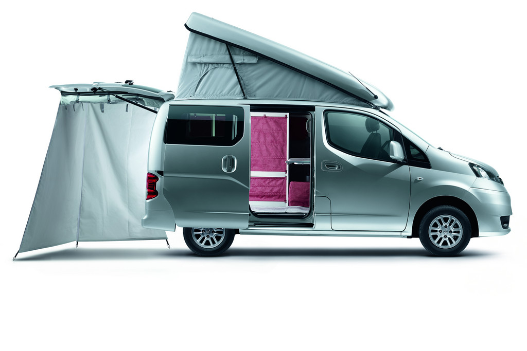 2012 nissan nv200 evalia for camping garage car. Black Bedroom Furniture Sets. Home Design Ideas