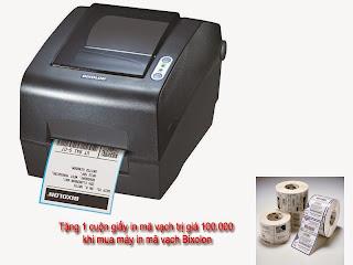 máy in mã vạch bixolon slp-t400