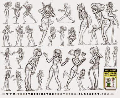 http://studioblinktwice.deviantart.com/art/Female-Character-Pose-and-Gesture-Sheet-1-532414226