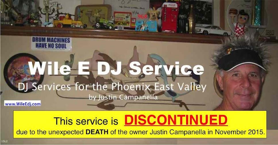 Wile E DJ Service