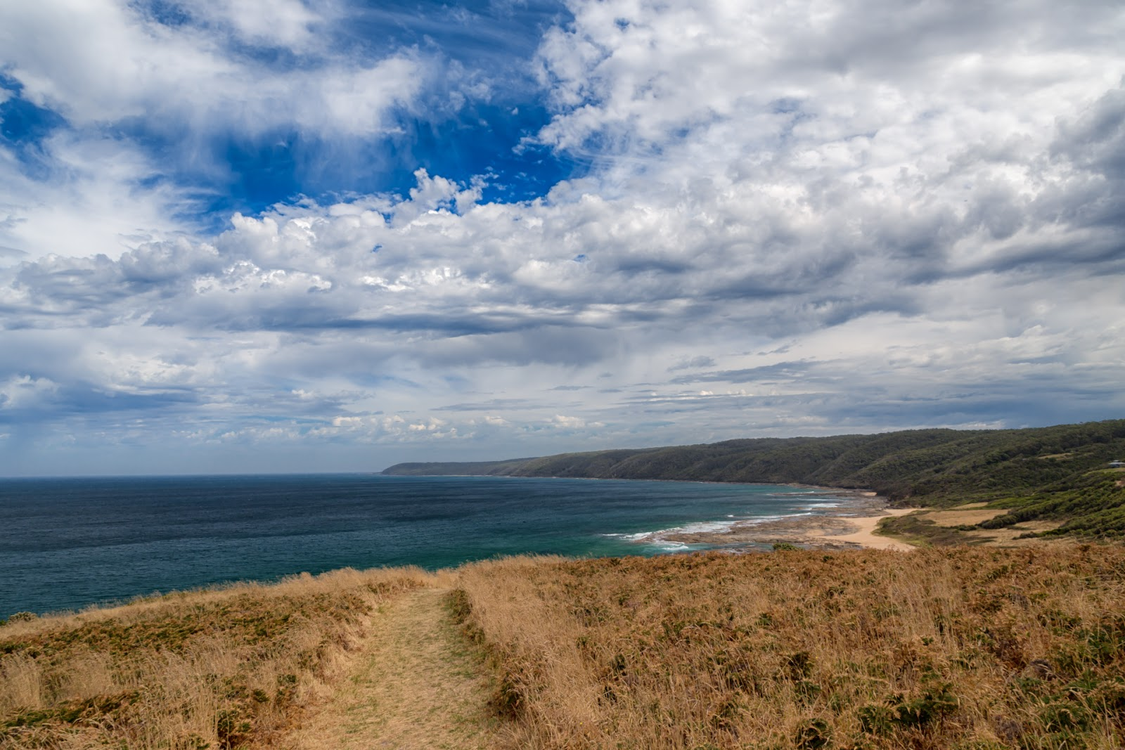 view from bald hill great ocean walk