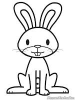 Mewarnai Binatang Kelinci