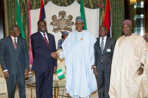 Buhari at 48th ordinary session of the ECOWAS Authority of Heads of States-One