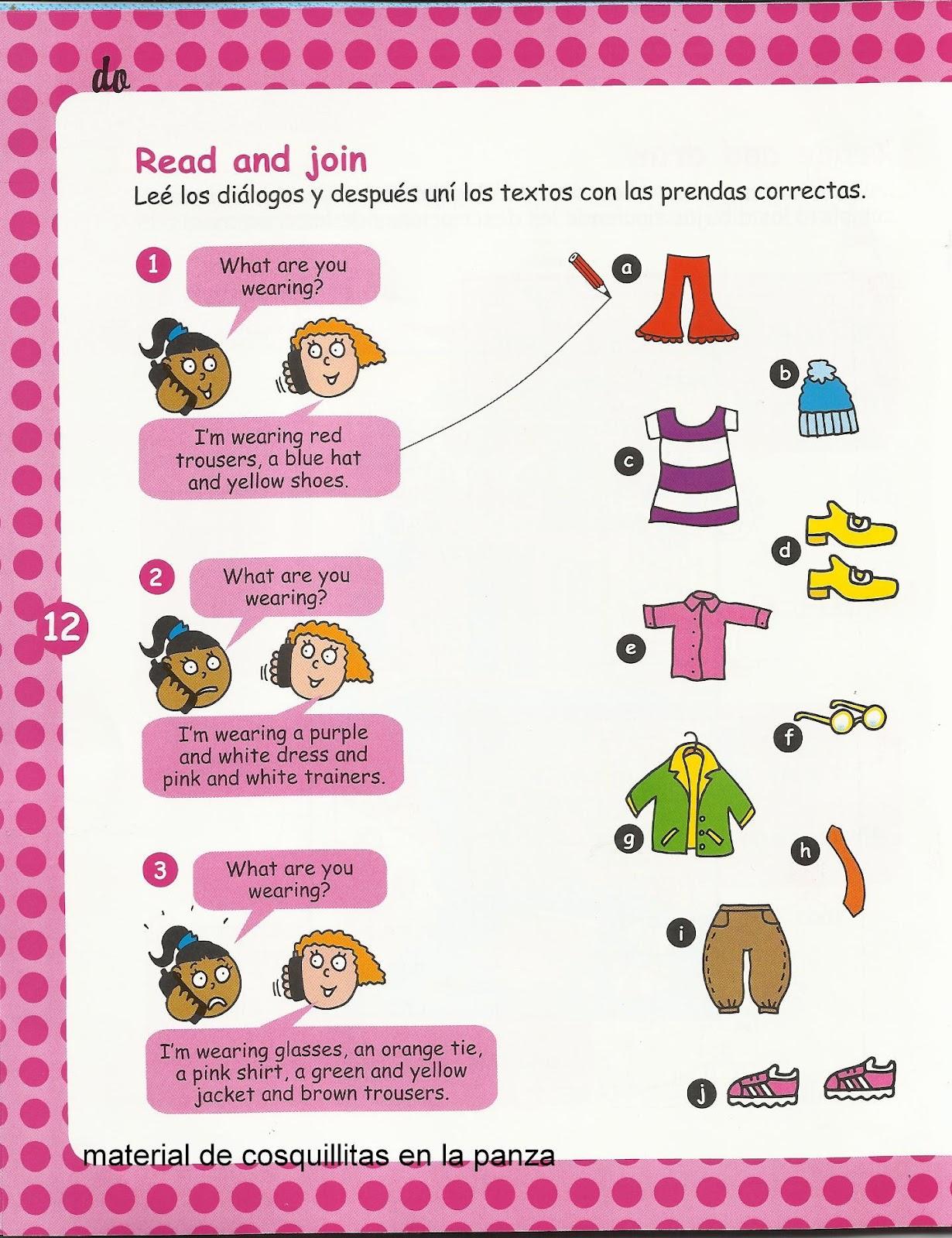 imagenes de ropa en ingles - Clothes vocabulary Vocabulario de la ropa Lingolex