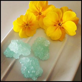 Recipe: 'Crystal' rock lemon candy